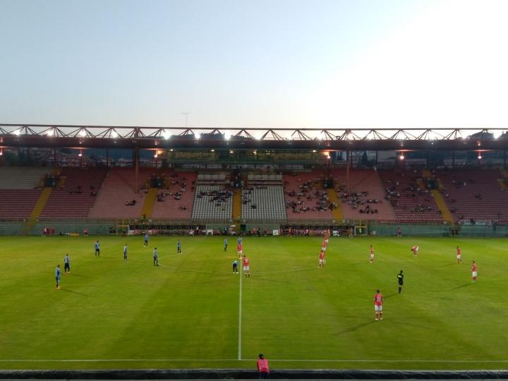 J'ai assisté à… Perugia-Novara, 2ème tour de Couped'Italie