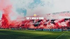 Les cinq meilleurs groupes ultras de Serie B en vidéo!