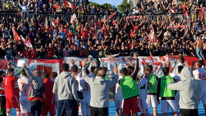 U.S. Grosseto, immersion au coeur d'une saison en rouge et blanc (Episode #1)